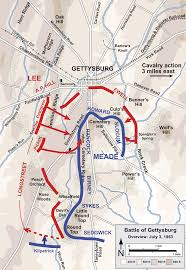 Map Of Confederate States by General Meade Battle Plan At Culp U0027s Hill Google Search