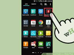 record audio android 3 ways to record audio on a mobile phone wikihow