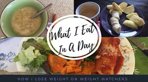 weight watchers what i eat in a day to lose weight