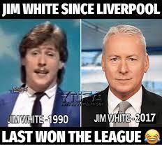 The League Memes - jim white since liverpool last won the league meme on me me