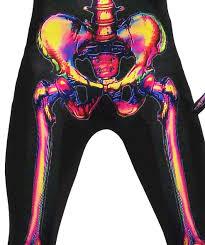 Radioactive Halloween Costume Radioactive Skeleton Halloween Costume Walmart