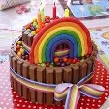 rainbow cake hervé cuisine rainbow collage cake 310x310jpg cakepins com ideas for the house