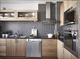 peinture cuisine bois cuisine bois et blanc unique cuisine blanc et bois ide dco salon