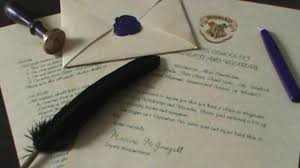 hogwarts acceptance letter quiller crafts youtube