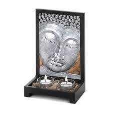 buddha plaque candle decor wholesale at koehler home decor