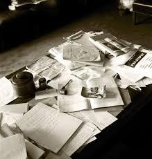 Einstein Cluttered Desk The Day Albert Einstein Died A Photographer U0027s Story Time Com