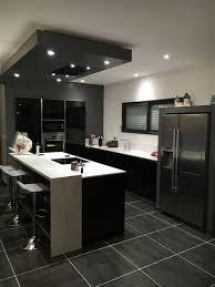 faience de cuisine moderne cuisine blanc laque avec ilot 4 faience de cuisine moderne ilot