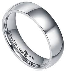 wedding ring reviews king will basic men s 6mm high polished comfort fit domed tungsten