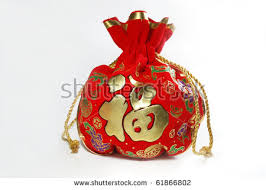 new year money bags money bags lucky new year stock photo 61866802