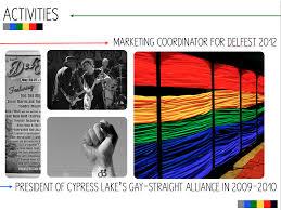 visual resume examples u2013 creating communication