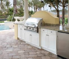 NatureKast Outdoor Kitchen Cabinetry Uses PVC Covered In Resin - Outdoor kitchen cabinets polymer