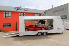 carrello porta auto rimorchio per trasporto due auto turatello rimorchi