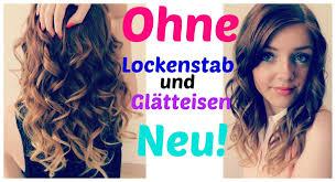 Frisuren Lange Haare Schnell by Locken Sehr Einfach Ganz Schnell Hält Ohne Lockenstab