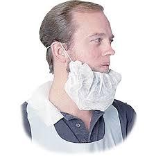 beard nets disposable beard net spun bonded white 100 pack staples