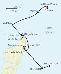 Madagascar Map Seychelles U0026 Madagascar With Aldabra Atoll Itinerary U0026 Map