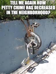 Bike Crash Meme - bike imgflip