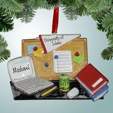 hobbies ornaments college student desk personalized free