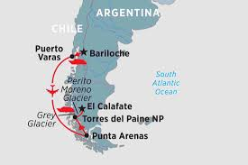 Chile South America Map by South America Tours U0026 Travel Peregrine Adventures Us