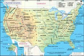 map of us map usa usa major tourist attractions maps