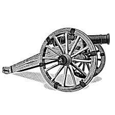 clipart cannon engraved clip art library