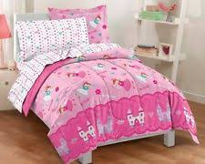 Mainstay Comforter Sets Mainstays Kids Unicorn Rainbow Bed In A Bag Twin Size Bedding