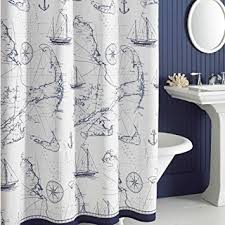 Seashell Fabric Shower Curtain Image Result For Park Bayside Blue Seashells Fabric Shower