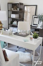 white home decor office home decorating office best home office design ideas