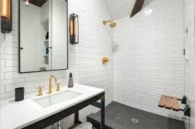 subway tile bathroom floor ideas glamorous white subway tile bathroom wood floor pictures decoration