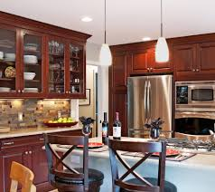 Brookhaven Kitchen Cabinets by Brookhaven Cherry Kitchen Kitchen Contemporary With Kitchen