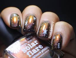 nail loopy picture polish solar flare galaxy nails
