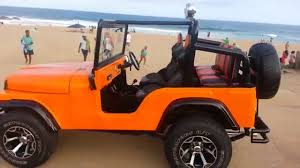 jeep wrangler buggy orange cj jeep replica youtube