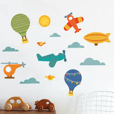 nursery wall decals walldecals air wall decal
