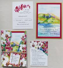 hawaiian themed wedding invitations a peek into the studio hawaii wedding invitations momental