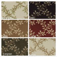 Tropical Accent Rugs Leaf Pattern Rugs Roselawnlutheran