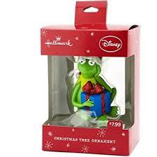 hallmark disney kermit the frog with gift