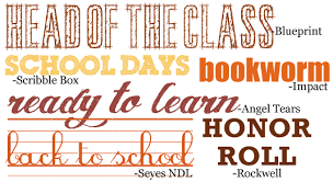 themed sayings scrapbooking themes quickstart school images sayings and fonts