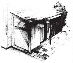Free Plans For Building A Wood Shed by 10 Wood Shed Plans To Keep Firewood Dry The Self Sufficient Living