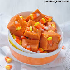 pumpkin candy corn candy corn fudge parenting chaos