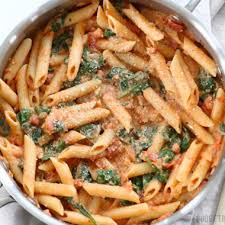 recipes with pasta creamy tomato and spinach pasta budget bytes