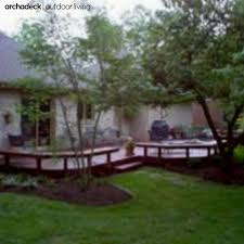 Wood Bench Designs Decks by 117 Best Built In Deck Seating Benches Planters Images On