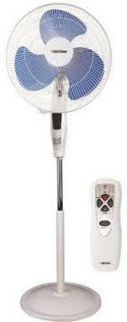 Aardee 16 Inch Pedestal Fan With Remote White Ar 1612 Pfr Fans