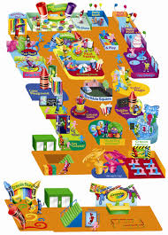 Greater Orlando Area Map by Venues Kids Eat Free Card