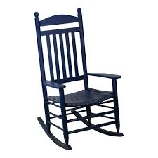 Blue Wicker Rocking Chair Blue Rocking Chairs Patio Chairs The Home Depot