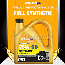 full synthetic 75w 90 manual gearbox transaxle oil 4l daewoo musso