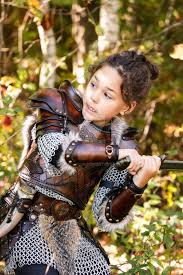 leather armor children viking celtic by lagueuse on deviantart