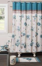 Aqua Blue Shower Curtains Blue Note Shower Curtain U0026 Bathroom Accessories Linens4less Com