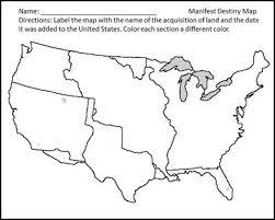 manifest destiny map worksheet free worksheets library download