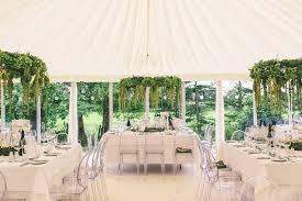 Marquee Chandeliers Annasul Y Wedding Dress For A Greenery Filled Marquee Wedding