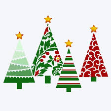 fancy christmas fancy christmas trees craft stencil design stencils for diy