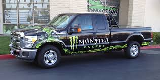 monster energy truck wraps vehicle wraps gatorwraps